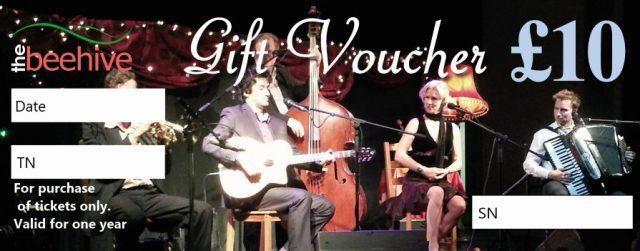 Beehive Gift Vouchers