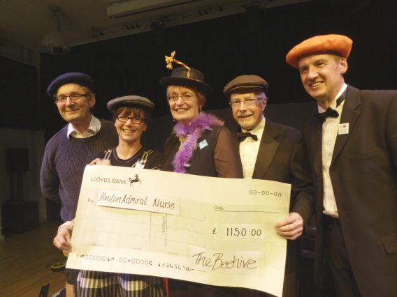 Fundraising success for the Honiton Admiral Nurse Campaign
