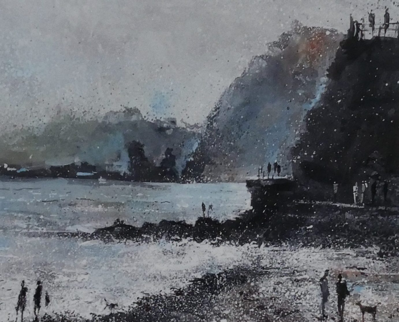 3-18 DEC 2019: Recent Paintings of Devon & Cornwall by Phil Creek